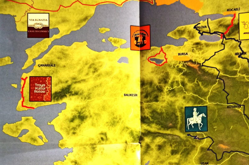 Troy Culture Route is now in Turkey Cultural Routes List